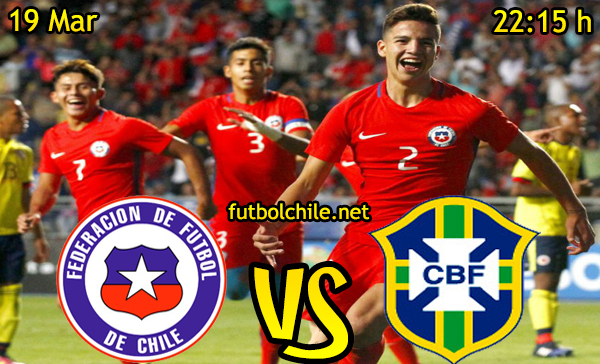 Ver stream hd youtube facebook movil android ios iphone table ipad windows mac linux resultado en vivo, online: Chile vs Brasil