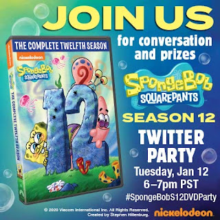 Twitter Party SpongeBob Squarepants