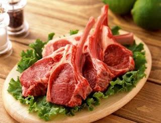 تجنب لمس اللحوم النية