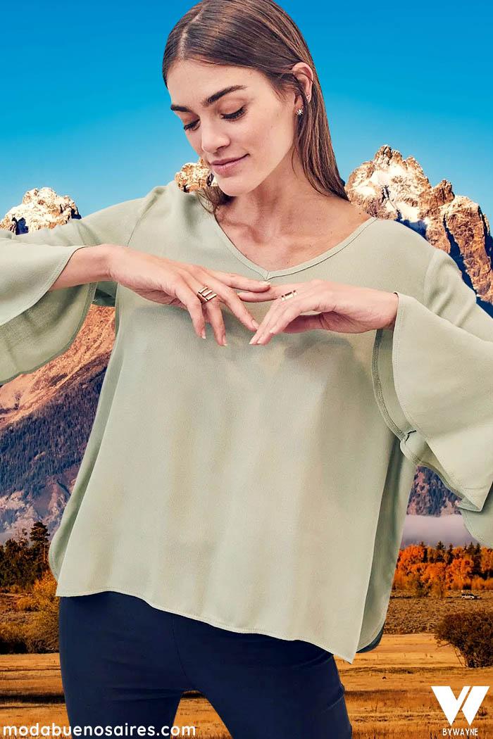 blusas de moda mujer invierno 2021