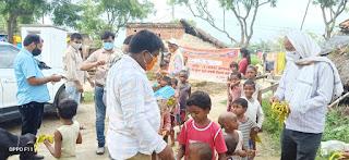 VBSPU : स्वयंसेवकों ने जासोपुर में वितरित किया 1500 मास्क | #NayaSaberaNetwork