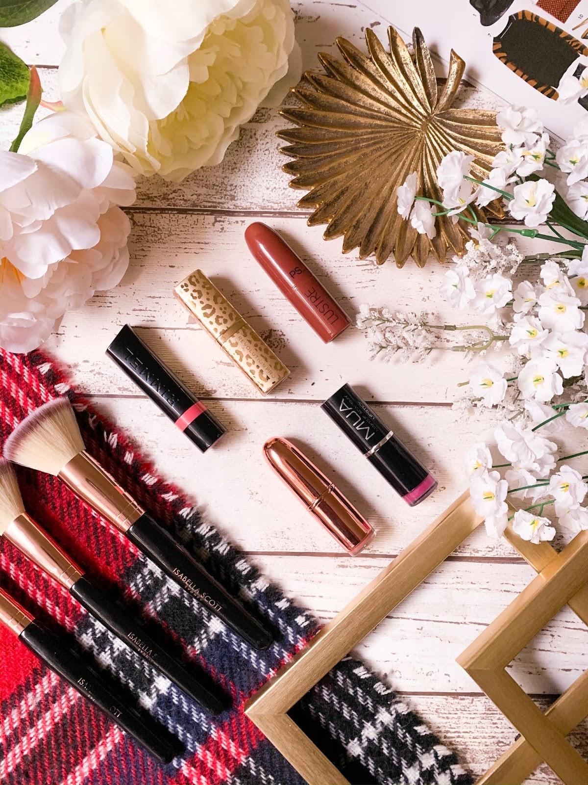 5 Under £5: Lipsticks Flatlay