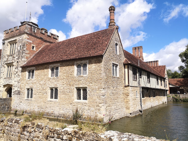 A visit to the National Trust Ightham Moat site in June 2020, when covid made everything different Walking the wider estate is still a delight.