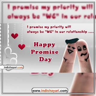 Happy Promise Day Quotes whishes greetings sms  images for whatsapp Facebook Instagram status