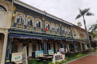 Barrio Árabe, Arab Quarter o Kampong Glam. Singapur, Singapore.
