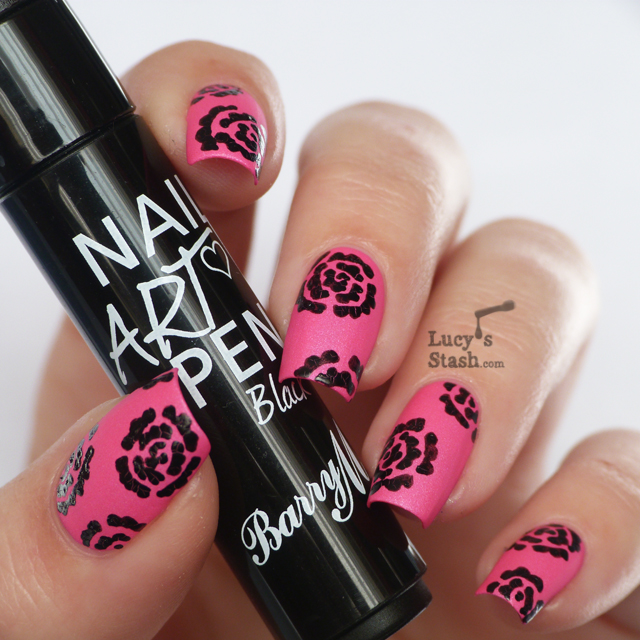 Nail Art Pens: Review Of Barry M Nail Art Pen Black Feat. Nicole By OPI