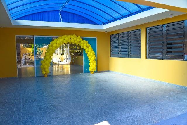 CMEI Espaço da Criança foi inaugurado neste sábado, 15