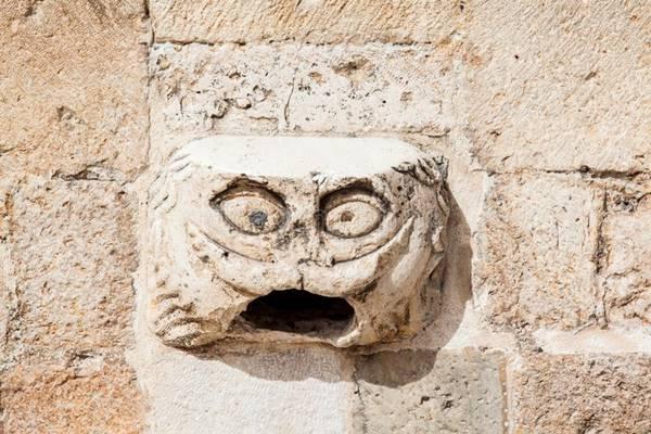 Gargoyle Head, Dubrovnik, Croatia