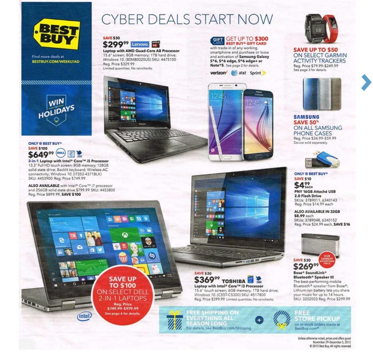Best Buy Ad 11/29: Best Cyber Week Sales & Deals