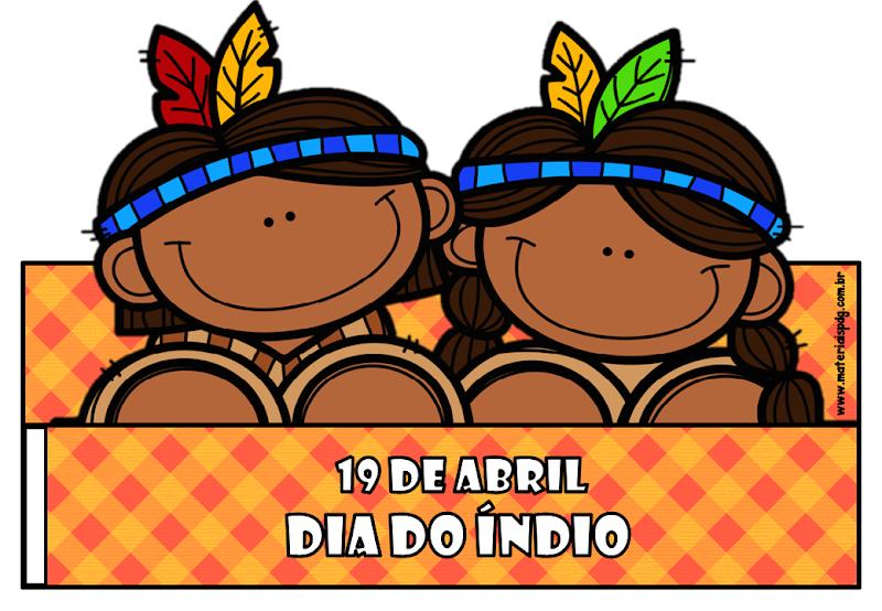 COROA  DIA DO ÍNDIO - DOWNLOAD