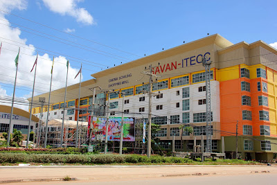 Savan - ITECC shopping center in Savannakhet
