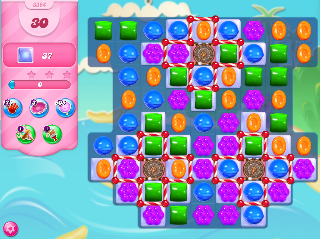 Candy Crush Saga level 3394