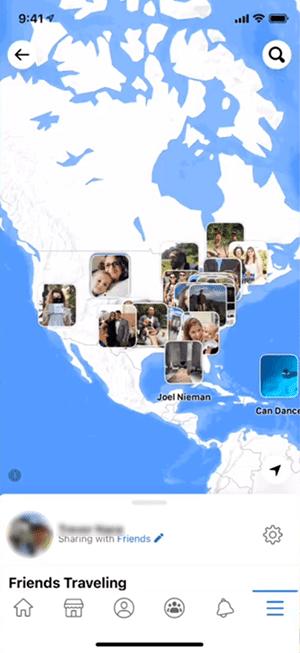 Cara Melacak Facebook Orang Lain Dengan Fitur Nearby Friends
