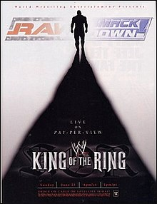 WWE King of the Ring 2002 - Event poster