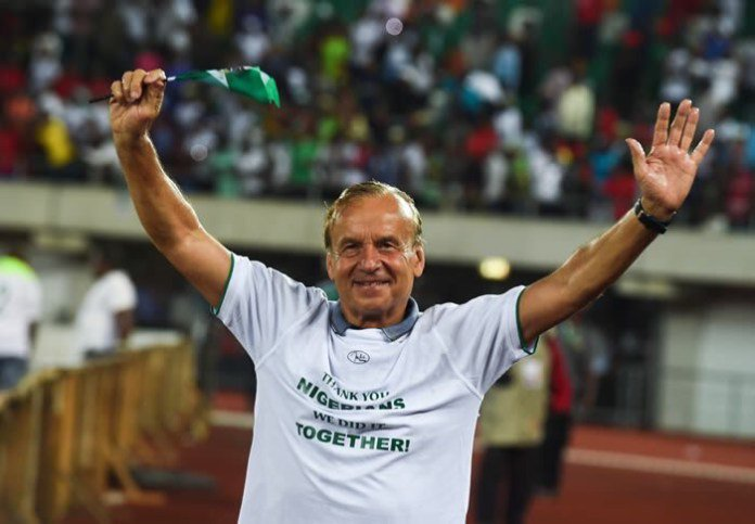 Rohr earns contract extention with Super Eagles after Wold Cup qualification