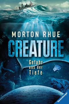 """In meinem neuesten Bücherboot stelle ich Euch zahlreiche Kinderbücher zum Thema """"Wale"""" vor. Und auch für die Eltern bzw. Erwachsenen ist etwas dabei :) Jedes der vorgestellten Kinder- und Jugendbücher darf ich am Ende des Posts auch an Euch verlosen - damit Ihr voller Wal-Faszination schmökern könnt! Hier seht Ihr übrigens das Cover zu """"Creature"""" von Morton Rhue."""
