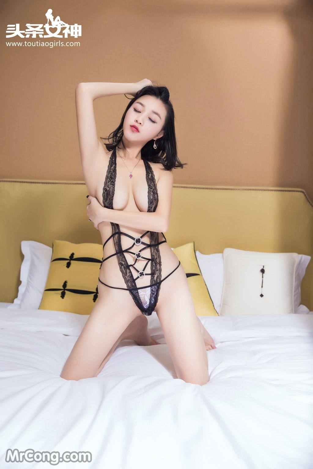 Image MrCong.com-TouTiao-2016-12-14-Zhang-Zi-Ran-004 in post TouTiao 2016-12-14: Người mẫu Zhang Zi Ran (张梓然) (24 ảnh)