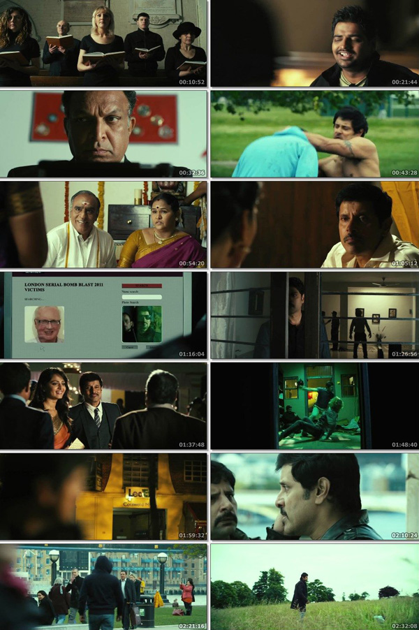 Download THAANDAVAM 2012 Dual Audio ORG Hindi 720p BluRay 1.4GB DD5.1Ch ESubs movie