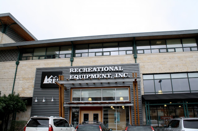 """Outdoor & Sporting Goods Company"" REI (Recreational Equipment,     Inc.) headquartered near Seattle"