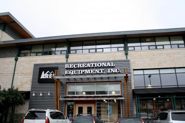 """Outdoor & Sporting Goods Company"" REI (Recreational Equipment,     Inc.) headquartered near Seattle"
