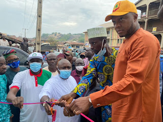 WATER SCARCITY: Olumide's Foundation Donates Boreholes To Communities In Ogun