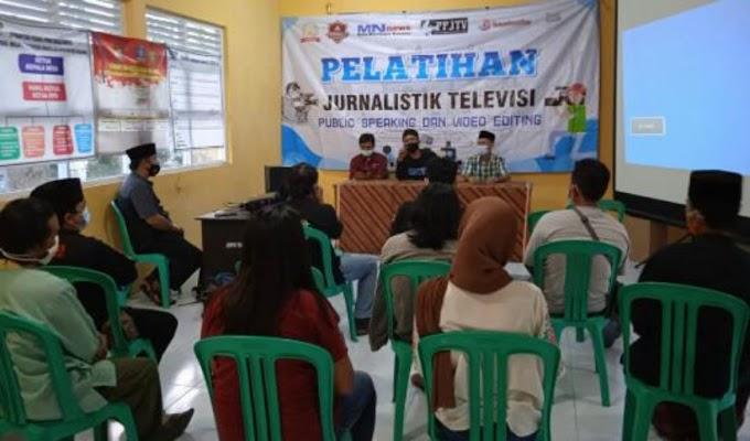 PPJTV bersama Ormas B'rantas gelar Pelatihan Jurnalistik Tv dan Buka Puasa Bersama
