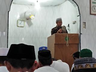 Khotif Idul Adha, Wahid Iskandar Barus Sampaikan Kisah Nabi Ibrahim Dalam Kehidupan Saat Ini