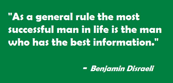 Benjamin Disraeli Quotes on success