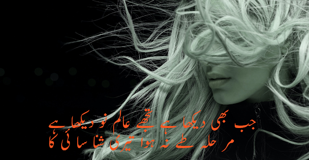 2 line urdu poetry attitude
