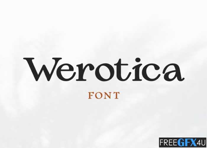 Werotica Font