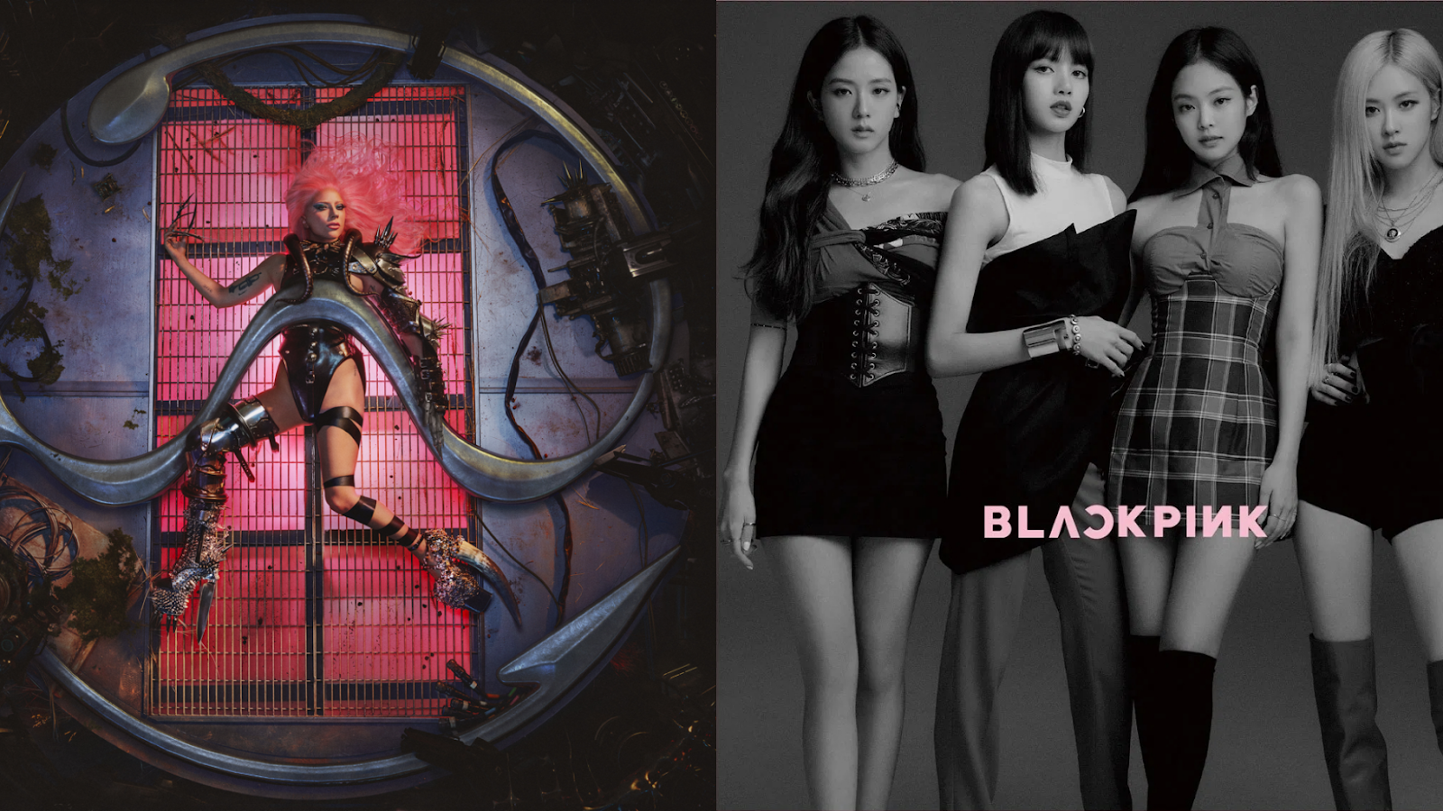 Lady Gaga and BLACKPINK's 'Sour Candy' Entered the UK's Top 40 Official Charts