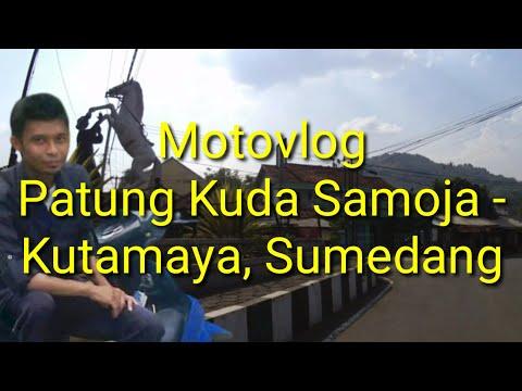 Motovlog Patung Kuda Samoja - Kutamaya, Sumedang