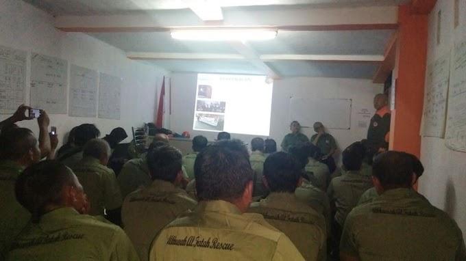 Ukhuwah Al Fatah Rescue mengikuti DIKLAT USAR dengan Jakarta Rescue Internasional