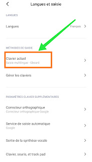 Comment changer le clavier Android et iPhone par défaut