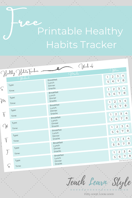 free weekly fitness tracker, printable workout and food log, water and exercise tracker, ultimate fitness tracker printable free
