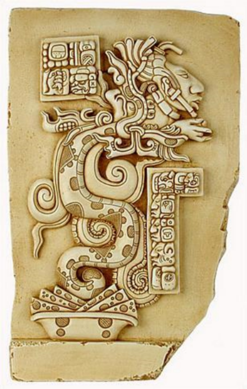 Maya Serpent,  Symbols and Meanings