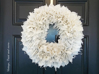 Vintage Paint and more... a diy farmhouse burlap wreath