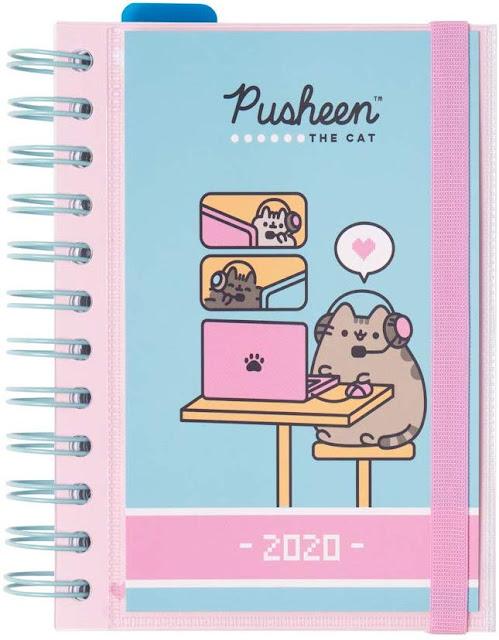 agenda 2020 giornaliera Pusheen