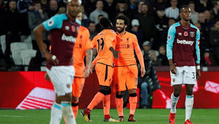 Liverpool Kembali Tumbangkan West Ham 4-1