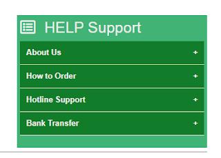 Accordion widget help support