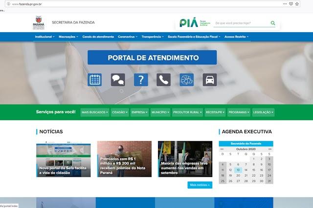 Novo portal da Secretaria da Fazenda facilita acesso aos serviços