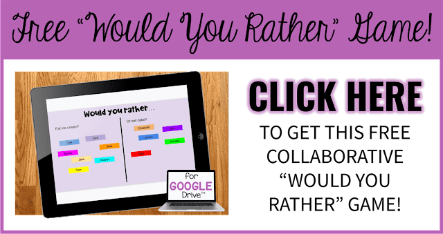 "Free Collaborative ""Would You Rather"" Game"