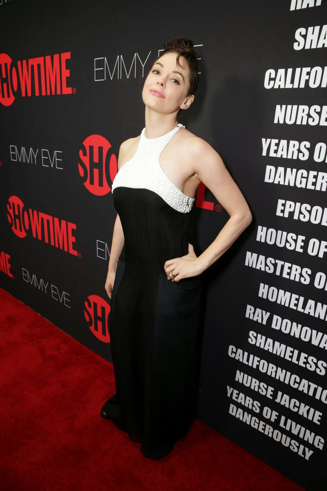 Rose McGowan – Showtime's 2014 Emmy Eve Soiree in West Hollywood
