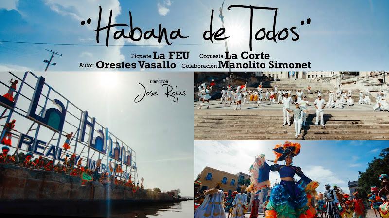 La Corte - ¨Habana de todos¨ - Videoclip - Director: Jose Rojas. Portal Del Vídeo Clip Cubano