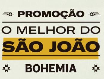Cadastrar Promoção Bohemia O Melhor do São João