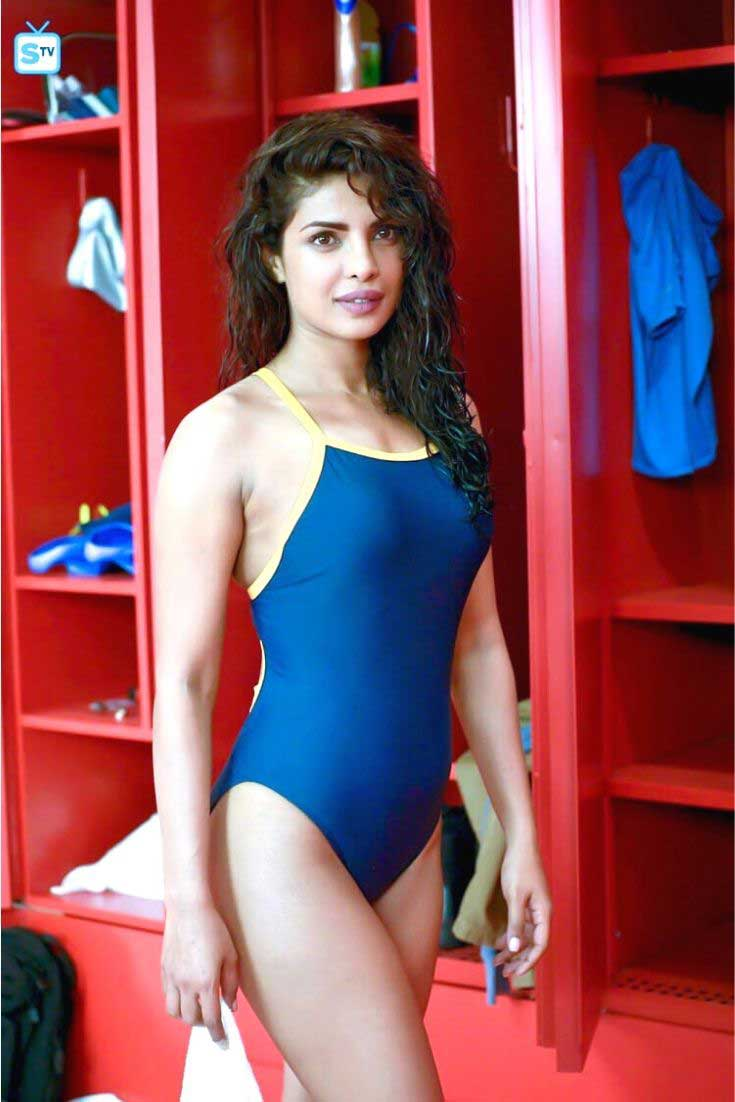 Priyanka Chopra in Swimsuit, Priyanka Chopra in Swimsuit quantico
