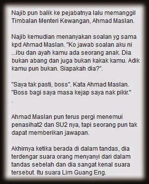 Deep Story. Ada Kebenaran Disebalik Sindiran? Kisah Si Najib Dan Konco-Konconya Yang Bodoh.