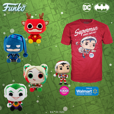 DC Comics Holiday Pop! Vinyl Figures by Funko