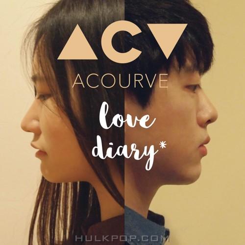 ACOURVE – Love Diary – Single