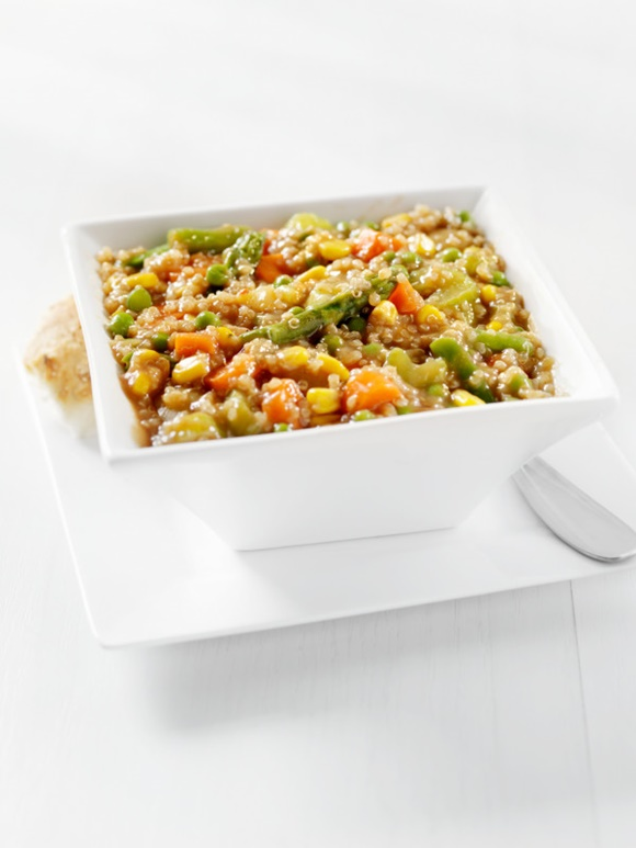 Revuelto De Espárragos Con Quinoa
